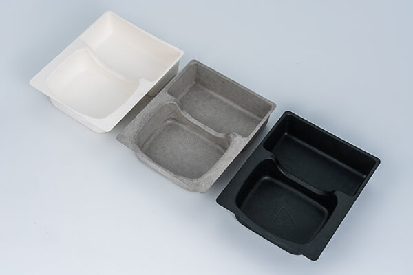 Color Moulded Pulp Trays