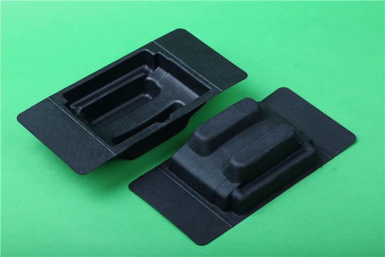 molded fiber trays