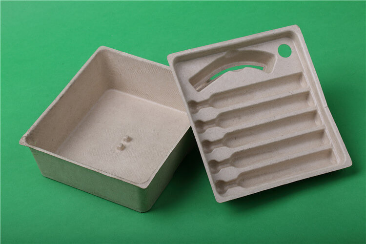 molded pulp tray box