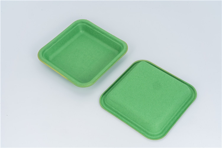 molded pulp tray for vegetable