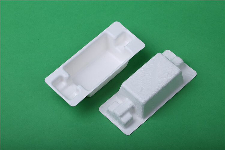 wet press bagasse trays packaging