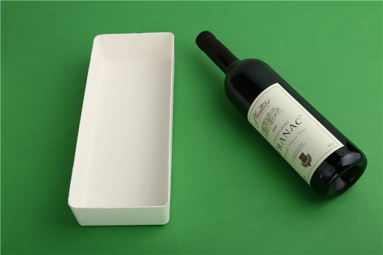 wine bottle tray pulp