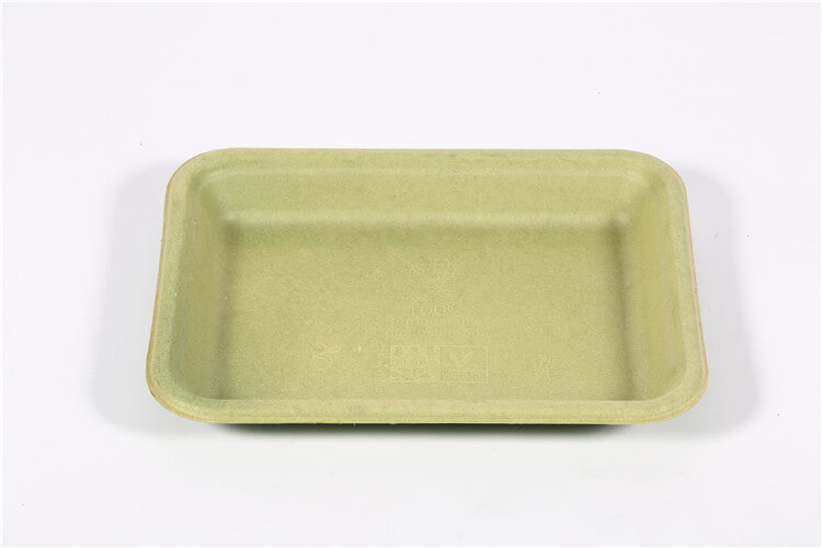 sugarcane pulp tray for meat