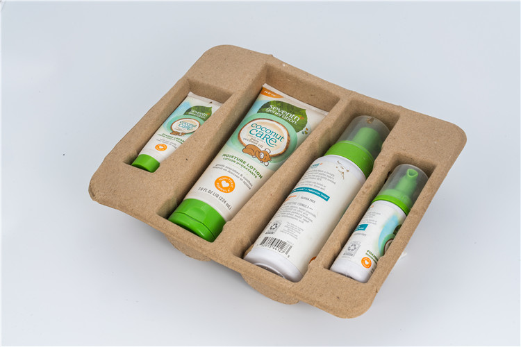 cosmetic pulp packaging