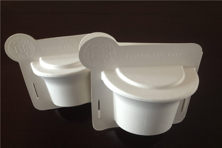 molded fiber containers