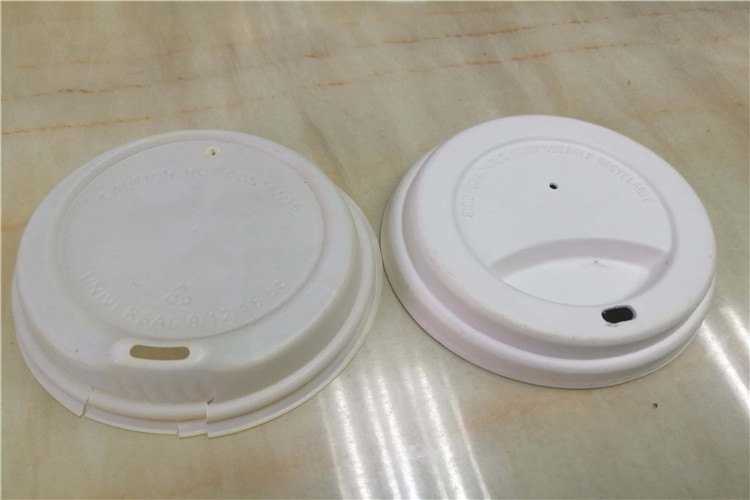 sugarcane fiber cup lid for coffee
