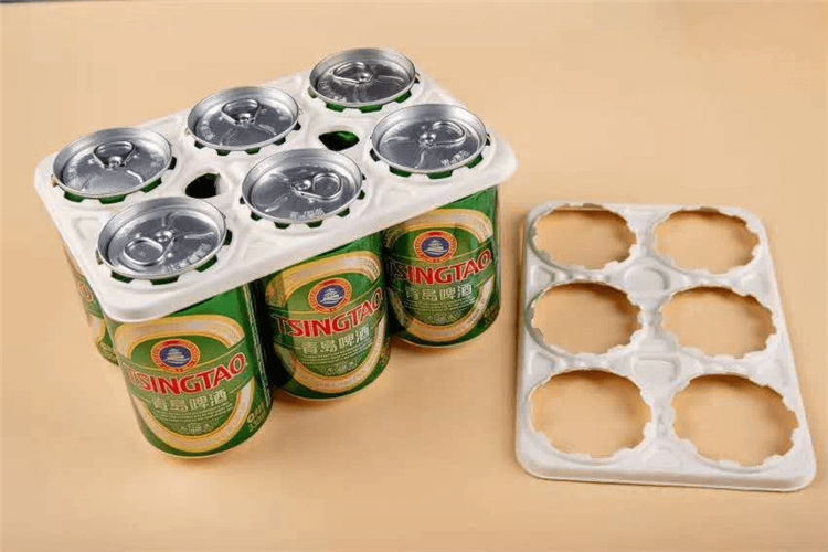 can beer molded pulp holder tray
