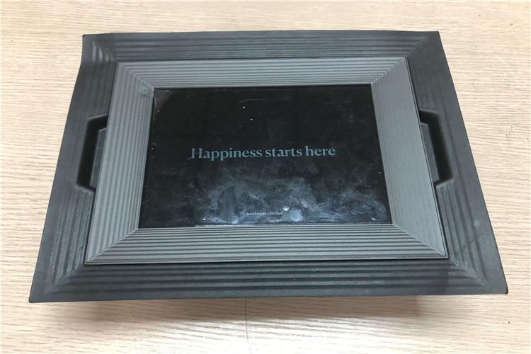custom molded pulp insert for electronic photo frame