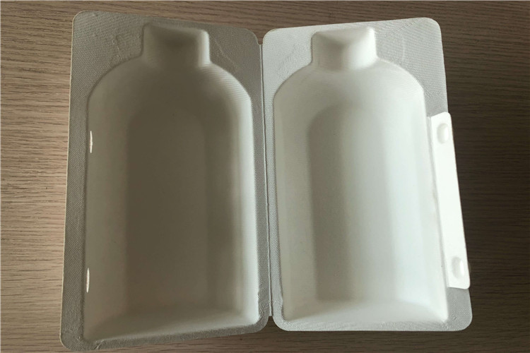 moulded pulp clamshell for clothes