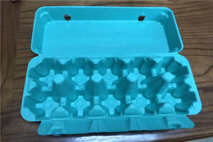 recyclable egg carton