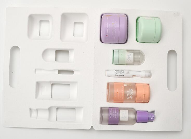 clamshell tray for cosmetic products